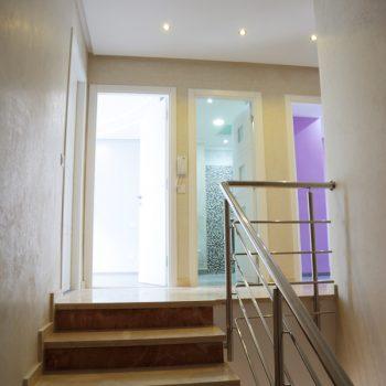 marbre translucide design projet villa